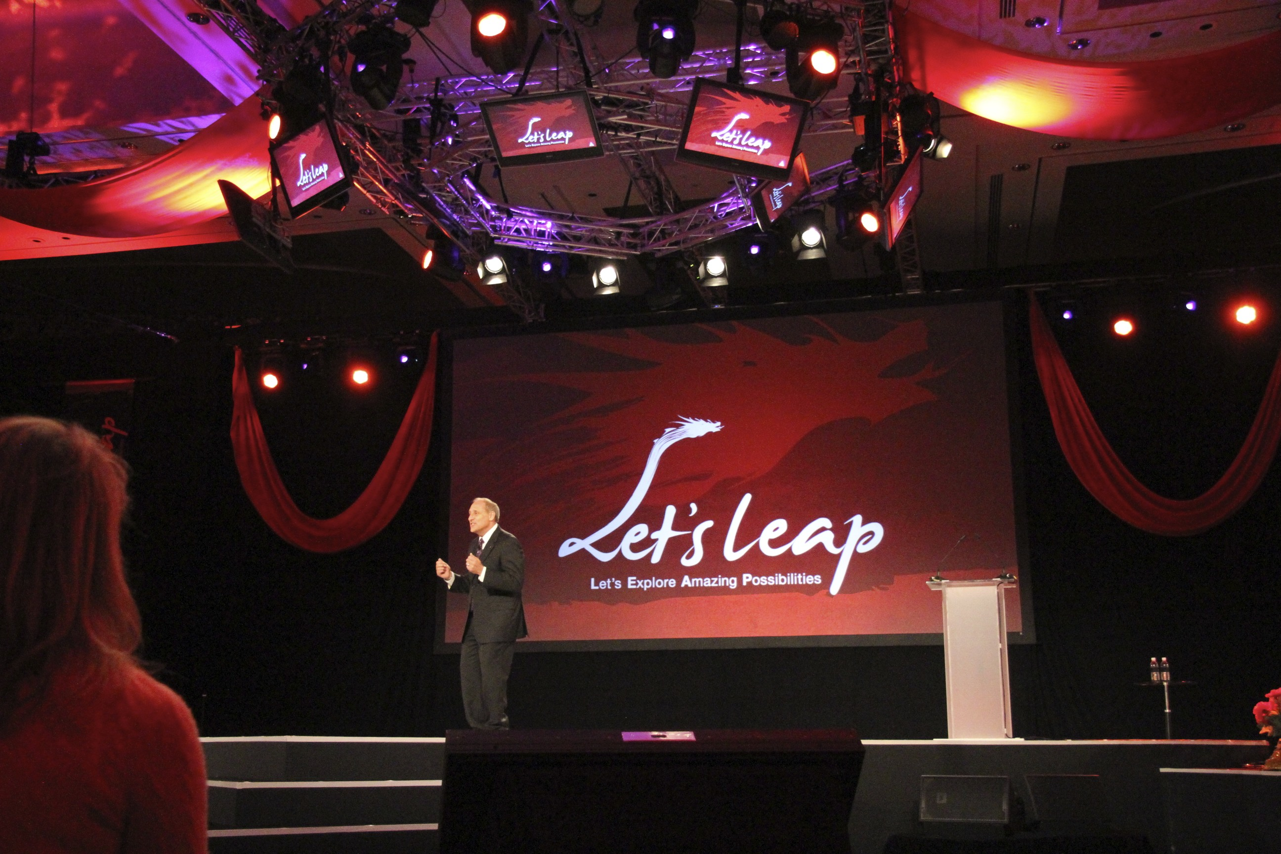 todd kaplan Lets Leap young presidents organization 2012