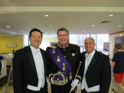 wei chen and ypo member steve sansom memphis king of carnival for investment - todd kaplan