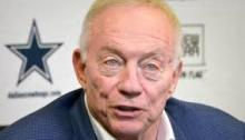 Jerry Jones Standing Boldly in the Face of Adversity
